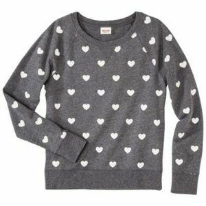 Mossimo Supply Co. heart sweatshirt size XXL